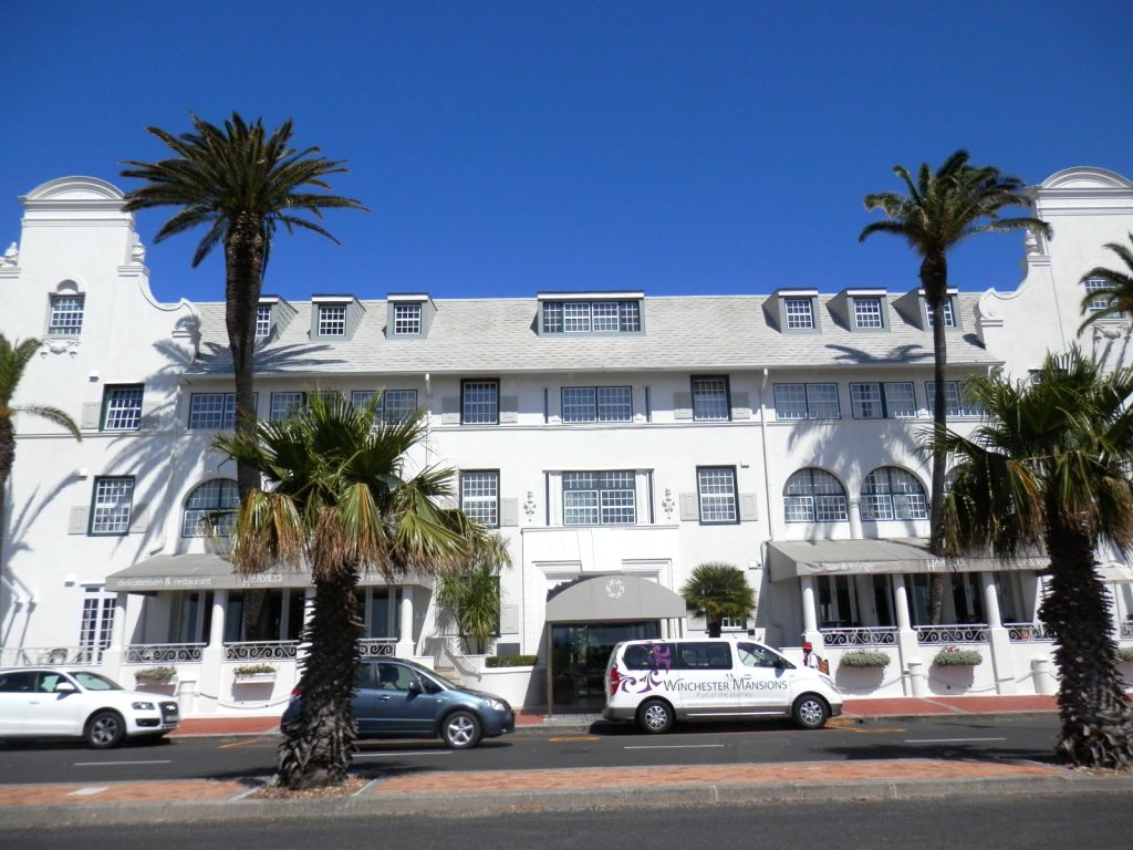Sea Point icon - the Winchester Mansion