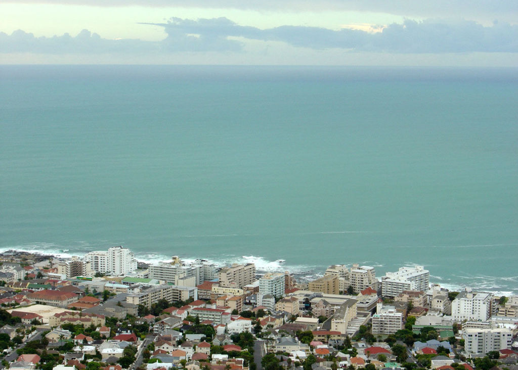 Sea point from Lions Head
