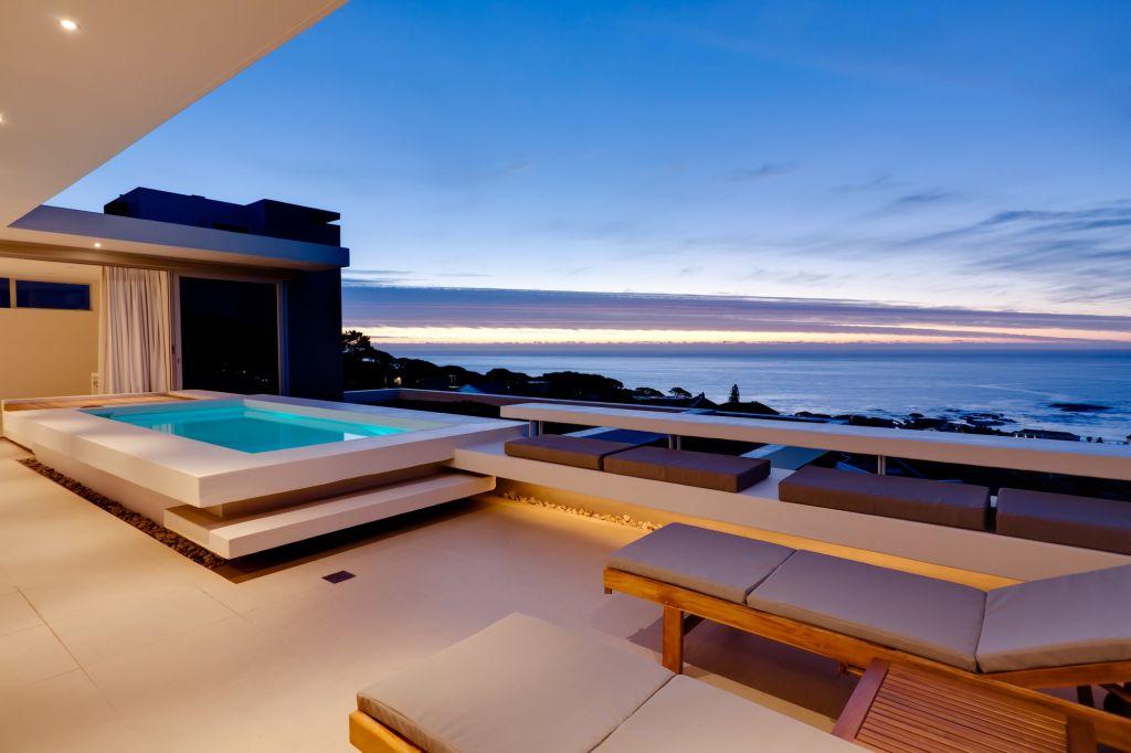 Penthouse Terrace Evening