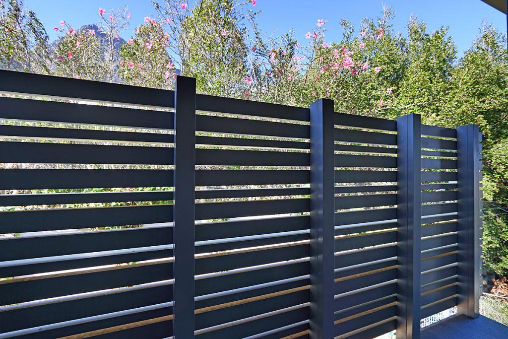 Bedroom3 balcony privacy screen